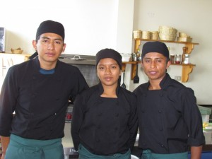 "An ""A"" team of great cooks at Cafe Cruceno."