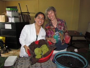 Adriana Sanchez from Miracles in Action and Susana Heisse from Pura Vida