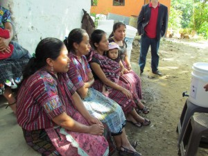 Women from San Jorge, Guatemala.