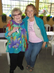 Elsie Fessler and Penny Rambacher