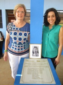This school was dedicated in memory of Rosa Melendez de Garcia, mother-in-law of donor Jo Anne Garcia-Melendez.